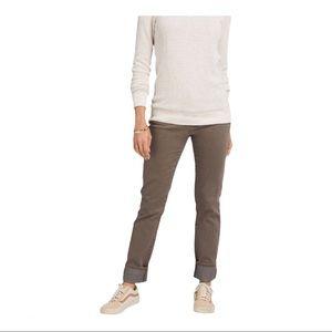 PrAna Kara Jeans Dark Mud Slim Fit Organic Blend